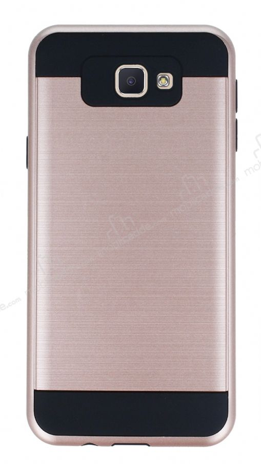Eiroo Iron Shield Samsung Galaxy J7 Prime Ultra Koruma Rose Gold Kılıf