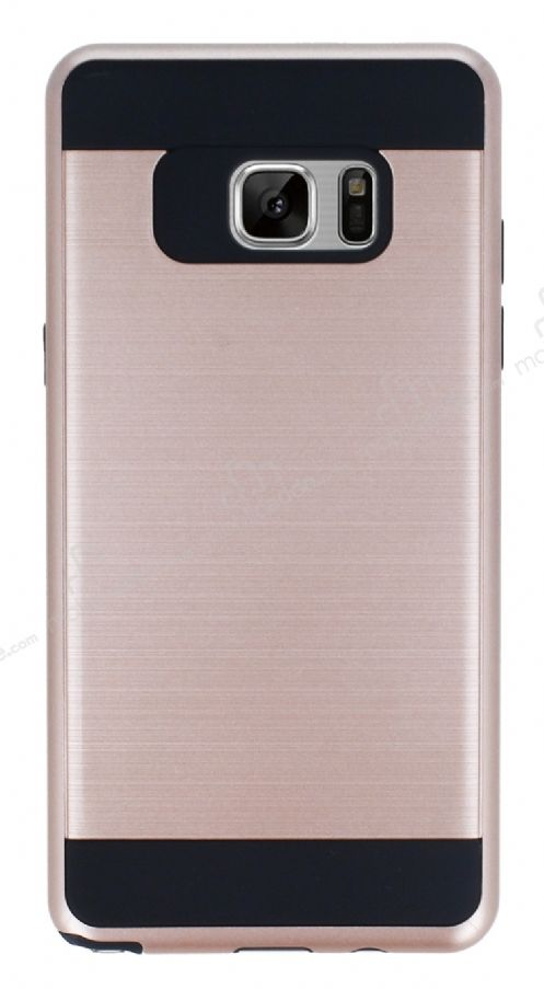 Eiroo Iron Shield Samsung Galaxy Note 7 Ultra Koruma Rose Gold Kılıf