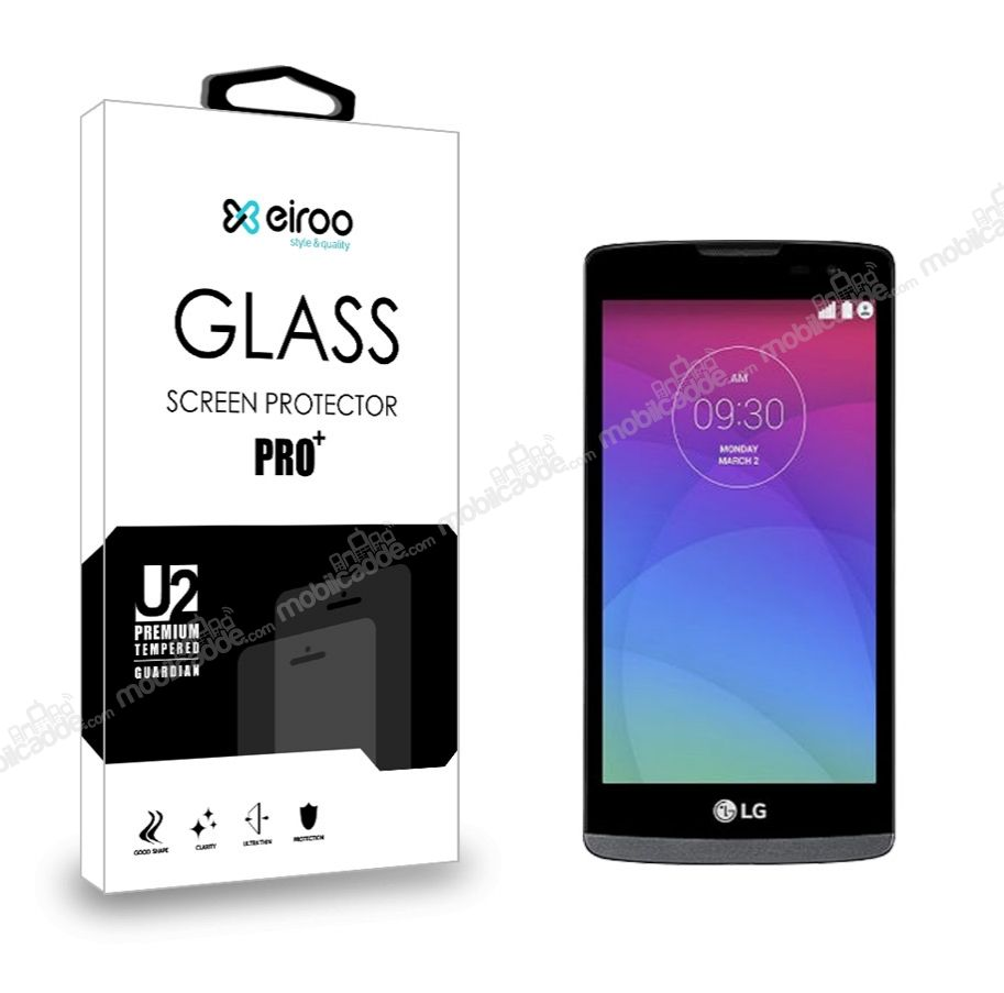 Eiroo LG Leon Tempered Glass Cam Ekran Koruyucu