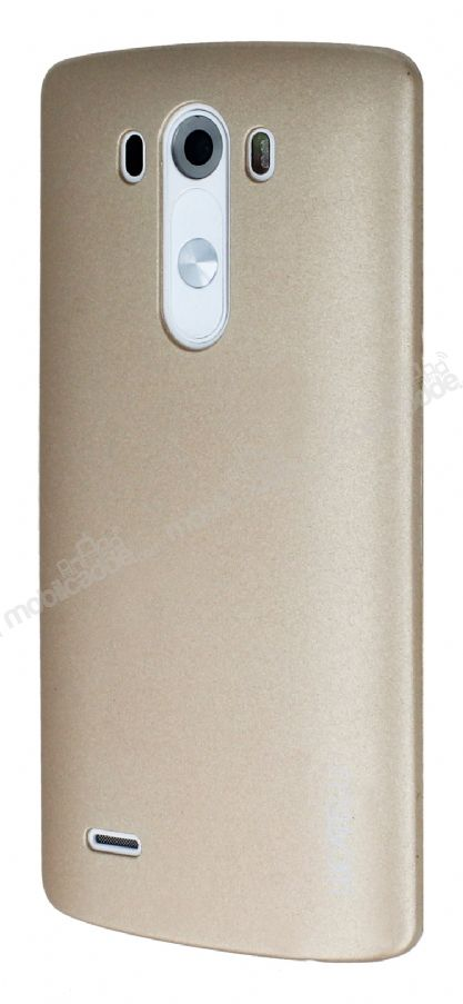 Eiroo Lucatelli LG G3 Ultra İnce Gold Rubber Kılıf