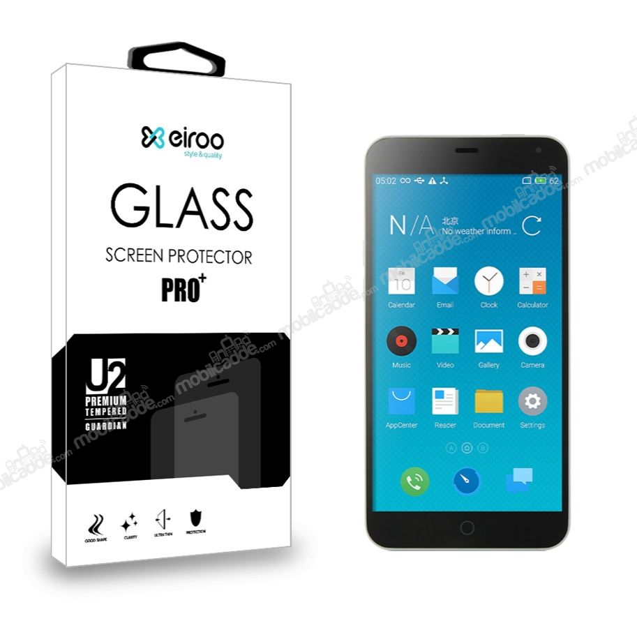 Eiroo Meizu M1 note Tempered Glass Cam Ekran Koruyucu