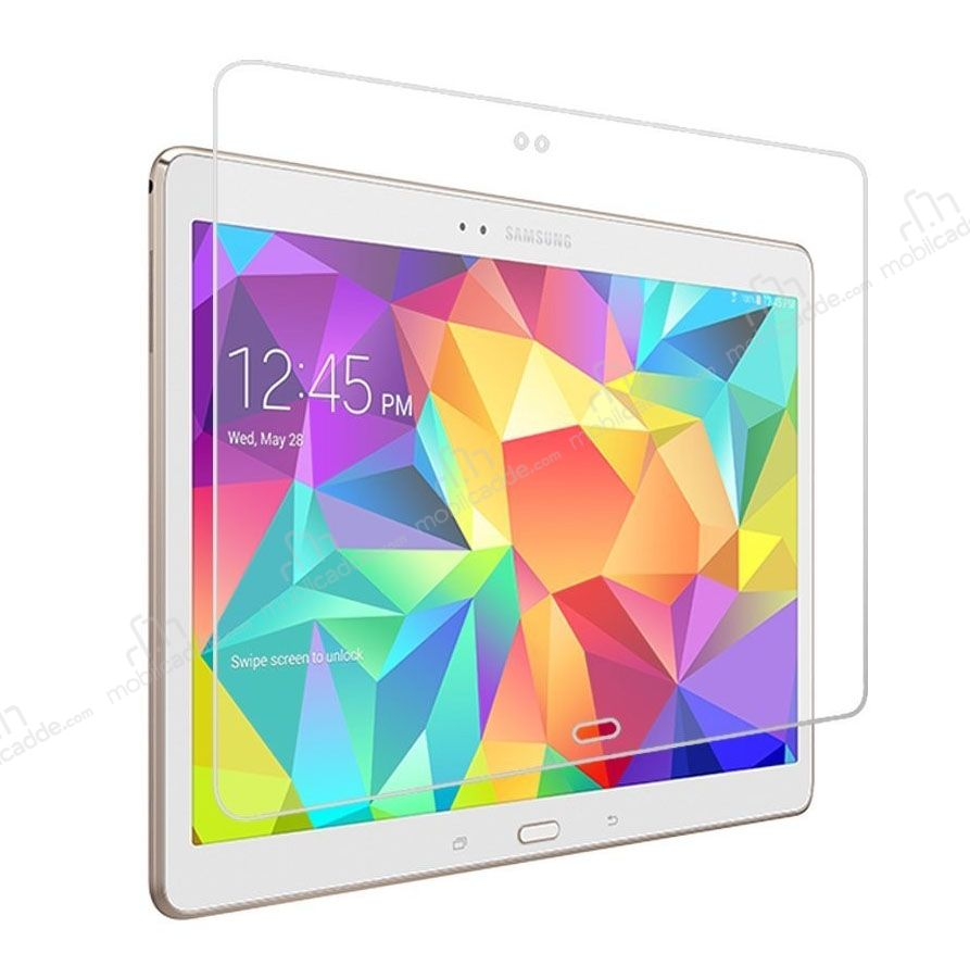 Eiroo Samsung Galaxy Tab S 10.5 Tempered Glass Tablet Cam Ekran Koruyucu
