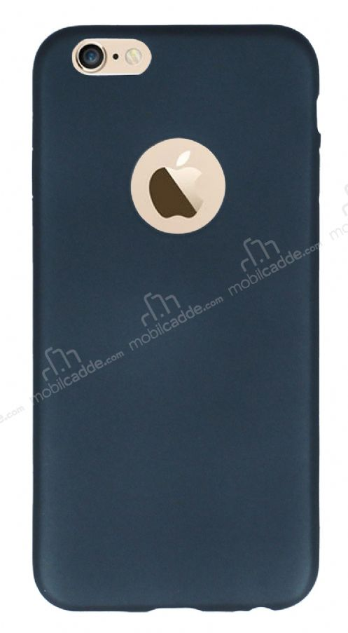 iPhone 6 Plus / 6 Plus Mat Dark Silver Silikon Kılıf