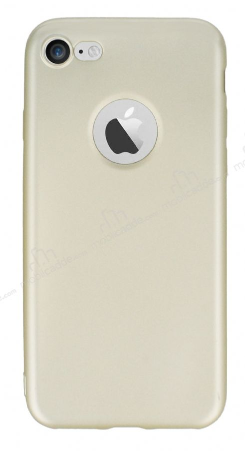 iPhone 7 / 8 Mat Gold Silikon Kılıf
