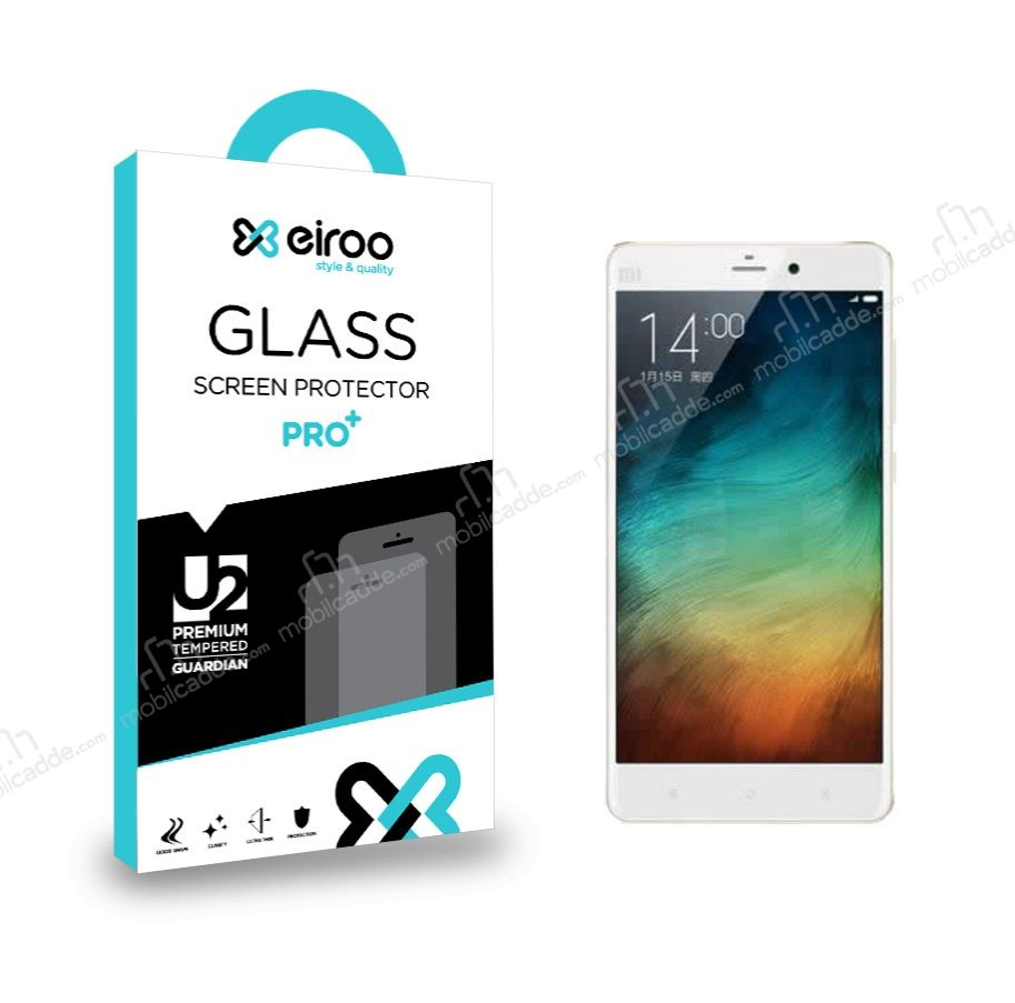 Eiroo Xiaomi Redmi Note 2 Tempered Glass Cam Ekran Koruyucu