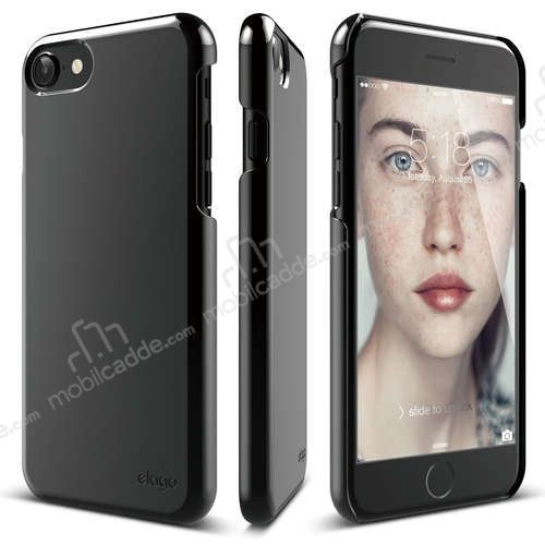 Elago Slim Fit 2 iPhone 7 Jet Black Rubber Kılıf