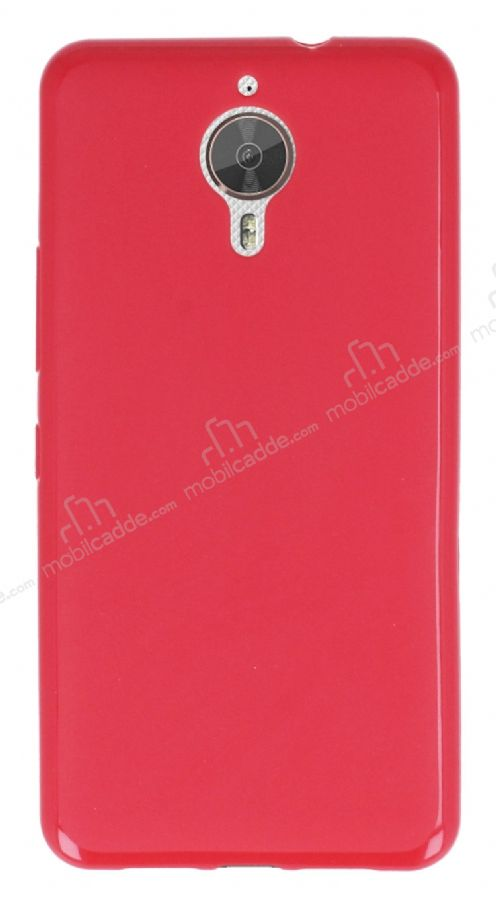 General Mobile GM 5 Plus Pembe Silikon Kılıf