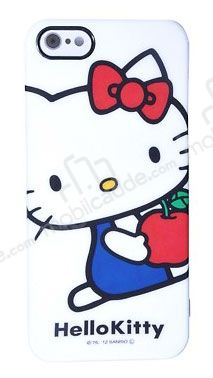 Hello Kitty SAN-154KTA iPhone SE / 5 / 5S Rubber Kılıf