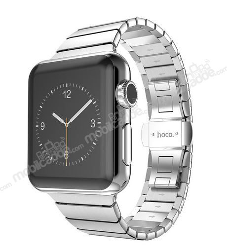 Hoco Apple Watch Link Bracelet Silver Metal Kordon (42 mm)