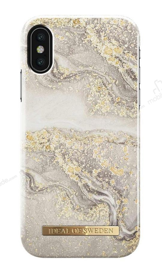 super popular 465f7 4f13c iDeal of Sweden iPhone XS Max Sparkle Greige Marble Kılıf