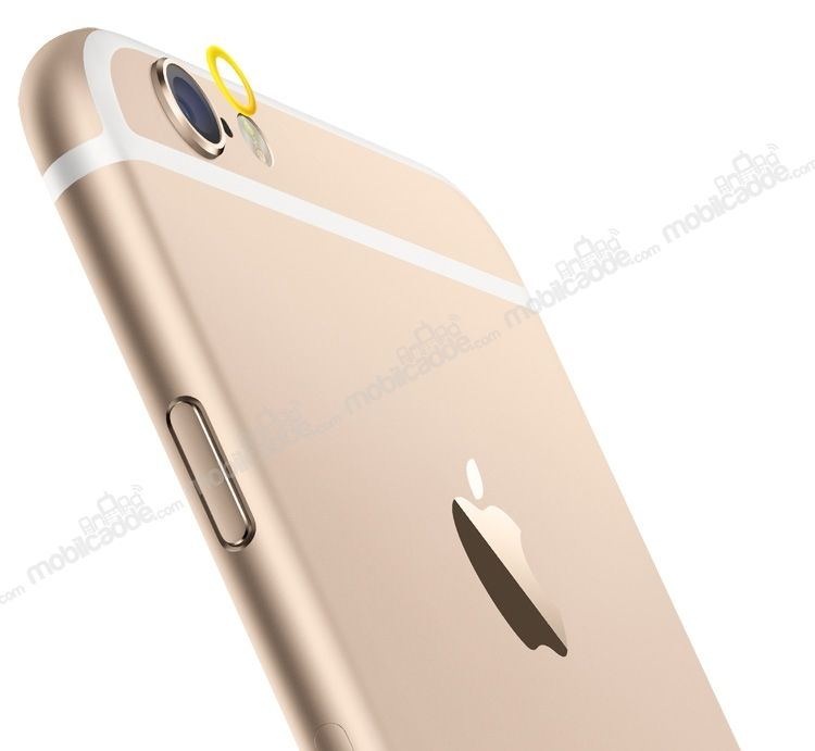 iPhone 6 Plus / 6S Plus Gold Kamera Lensi Koruyucu