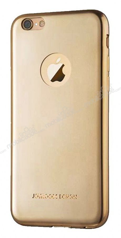 Joyroom iPhone 6 / 6S Ultra Fit Gold Silikon Kılıf