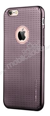 Joyroom iPhone 6 / 6S Nokta Desenli Dark Silver Rubber Kılıf