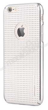 Joyroom iPhone 6 Plus / 6S Plus Nokta Desenli Silver Rubber Kılıf