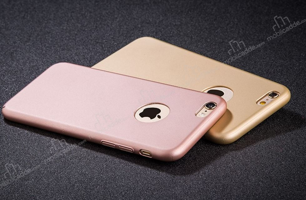 Joyroom Zhi Series IPhone 6 Plus 6S Rose Gold Ultra Ince Rubber Kilif
