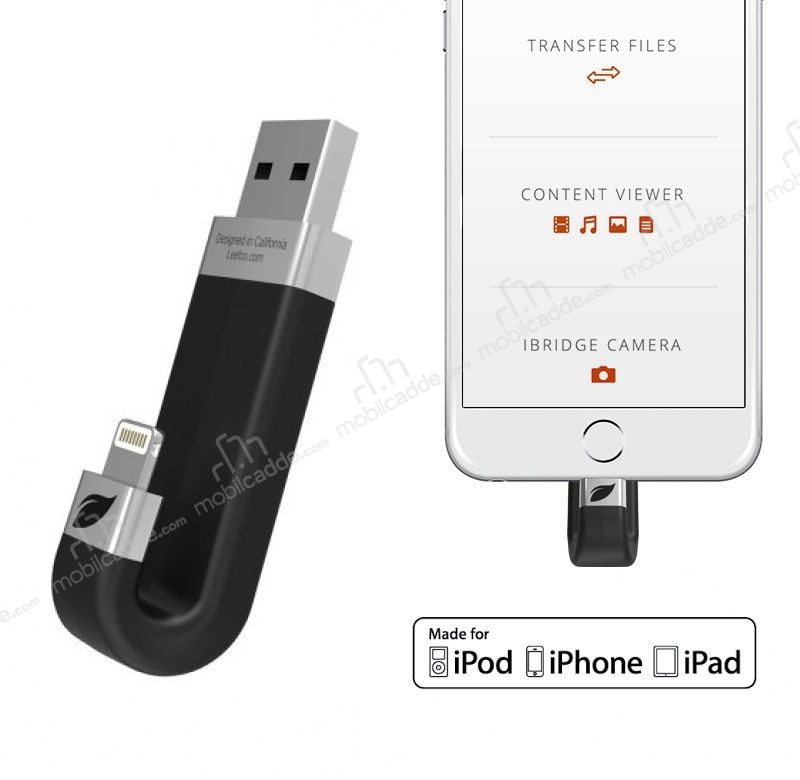 LEEF iBridge 32 GB Mobil Hafıza iOS USB Flash Bellek