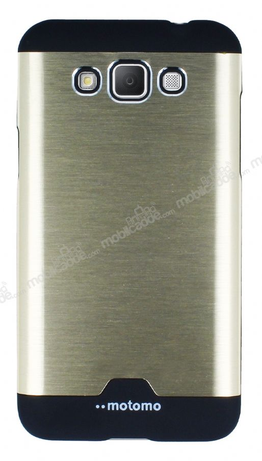 Motomo Round Galaxy Grand Max Metal Gold Rubber Kılıf