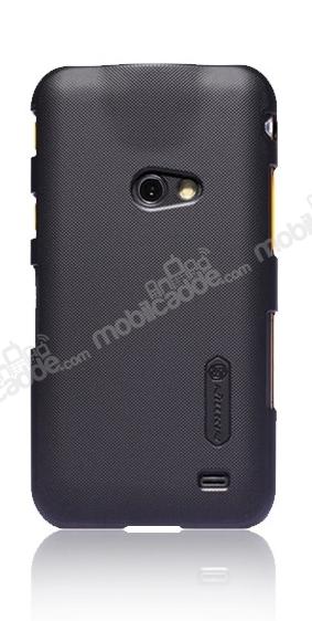Nillkin Samsung I8530 Galaxy Beam Siyah Sert Rubber Kilif