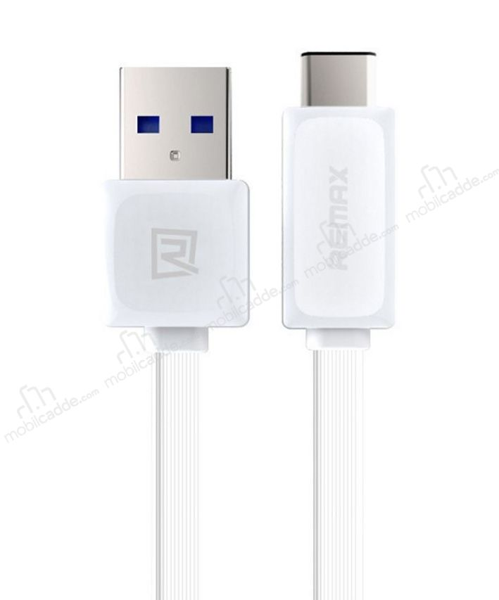 Remax Quick Charge USB Type-C Beyaz Data Kablosu 1m