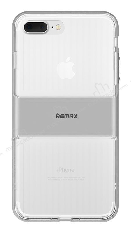 Remax Travel Hybrid iPhone 7 Plus / 8 Plus Ultra Koruma Silver Kılıf