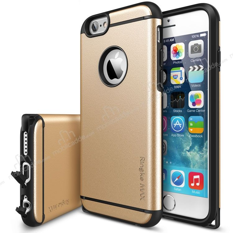 Ringke Max iPhone 6 Plus / 6S Plus Ultra Koruma Gold Kılıf