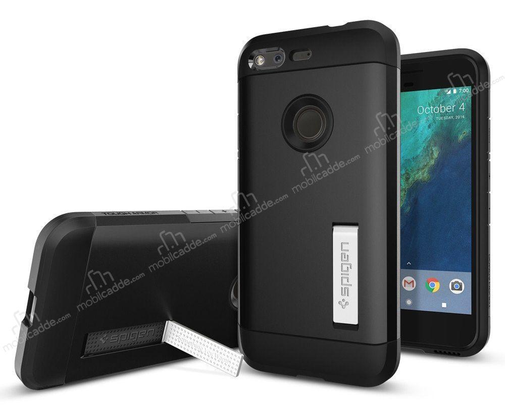 Spigen Tough Armor Google Pixel Siyah Kılıf ücretsiz Kargo