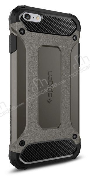 Spigen Tough Armor Tech iPhone 6 Plus / 6S Plus Gunmetal Kılıf