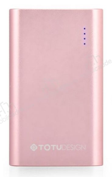 Totu Design Ease 10000 mAh Powerbank Rose Gold Yedek Batarya