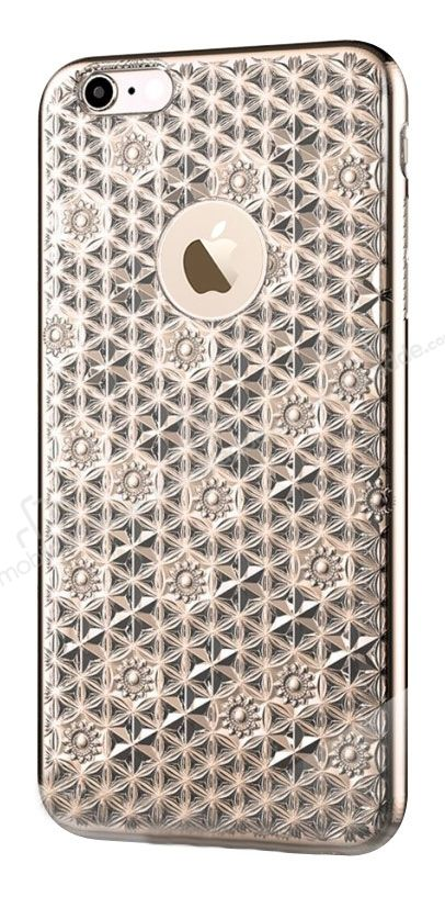 Totu Design Reform iPhone 6 / 6S Gold Silikon Kılıf