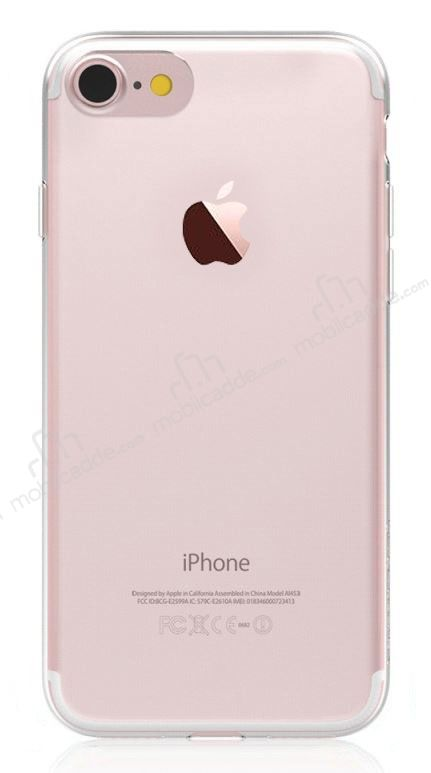 Totu Design Soft Series iPhone 7 / 8 Şeffaf Silikon Kılıf