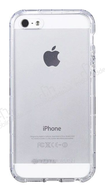 Totu Design Air Bag iPhone SE / 5 / 5S Şeffaf Silikon Kılıf
