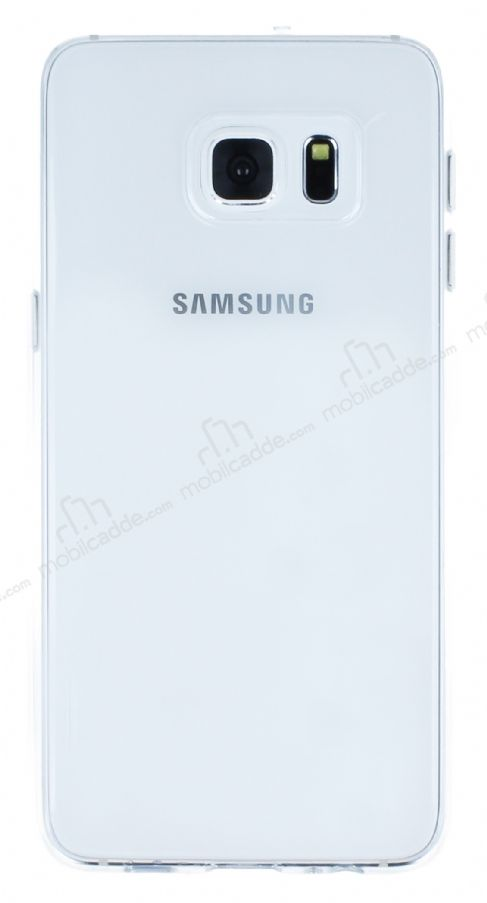 Totu Design Samsung Galaxy S6 Edge Plus Şeffaf Rubber Kılıf