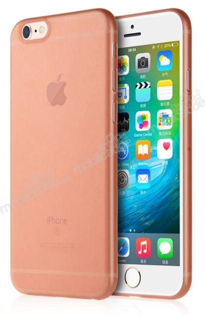 Totu Design Zero Series iPhone 6 / 6S Ultra İnce Rose Gold Rubber Kılıf