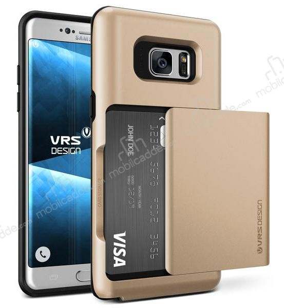 VRS Design Damda Glide Samsung Galaxy Note 7 Shine Gold Kılıf
