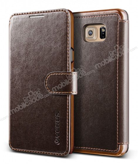 Verus Dandy Layered Leather Samsung Galaxy Note 5 Kahverengi Kılıf
