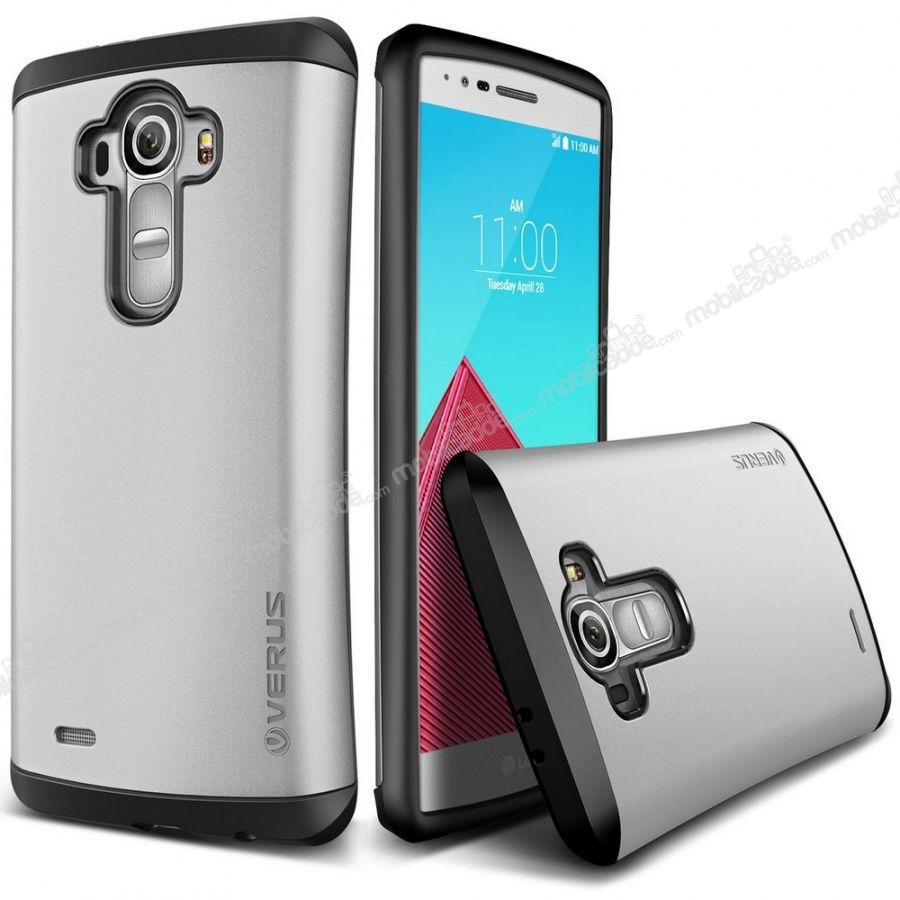 Verus Thor Series Hard Drop LG G4 Light Silver Kılıf