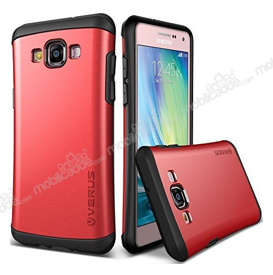 Verus Thor Series Hard Drop Samsung Galaxy A7 Crimson Red Kılıf