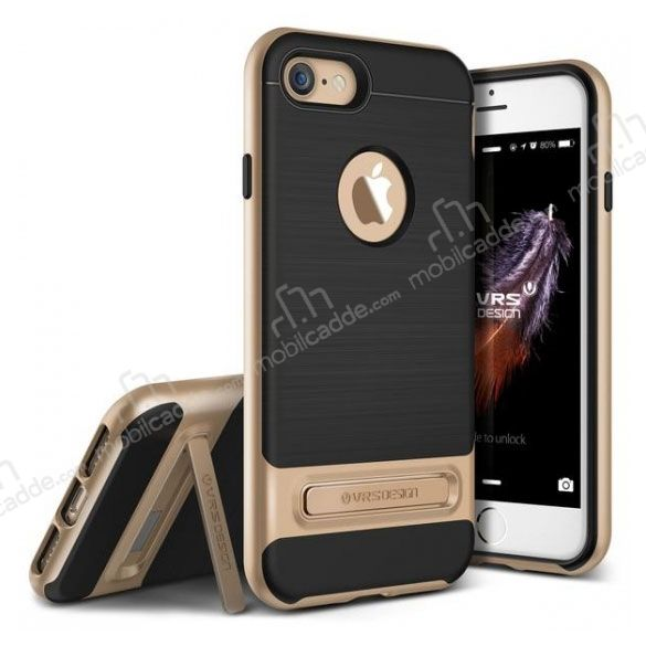 VRS Design High Pro Shield iPhone 7 / 8 Gold Kılıf
