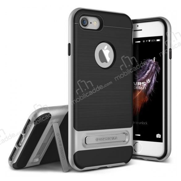 VRS Design High Pro Shield iPhone 7 Silver Kılıf