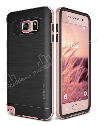 Verus High Pro Shield Samsung Galaxy Note 5 Rose Gold Kılıf
