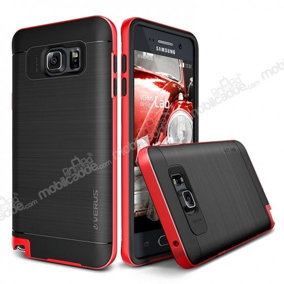 Verus High Pro Shield Samsung Galaxy Note 5 Crimson Red Kılıf