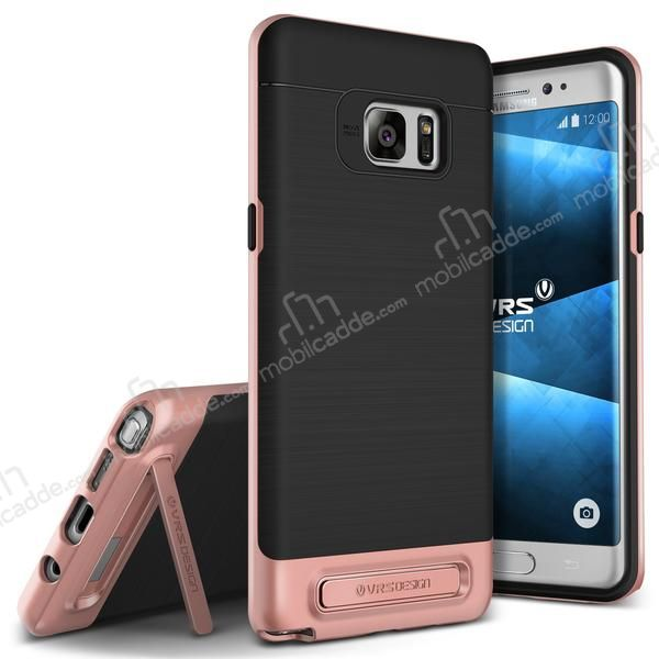 VRS Design High Pro Shield Samsung Galaxy Note FE Rose Gold Kılıf