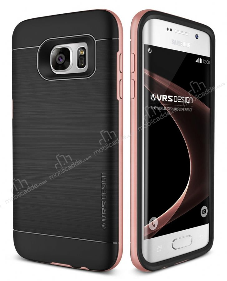 Verus High Pro Shield Samsung Galaxy S7 Edge Rose Gold Kılıf