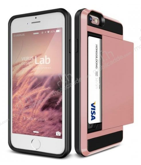 Verus iPhone 6 / 6S Damda Slide Rose Gold Kılıf