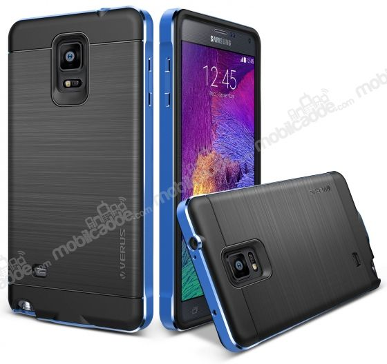 Verus New Iron Shield Samsung N9100 Galaxy Note 4 Monaco Blue Kılıf