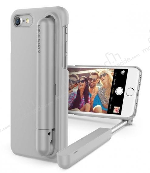 vrs design cue stick iphone 7 plus 8 plus selfie ubuklu silver k l f. Black Bedroom Furniture Sets. Home Design Ideas