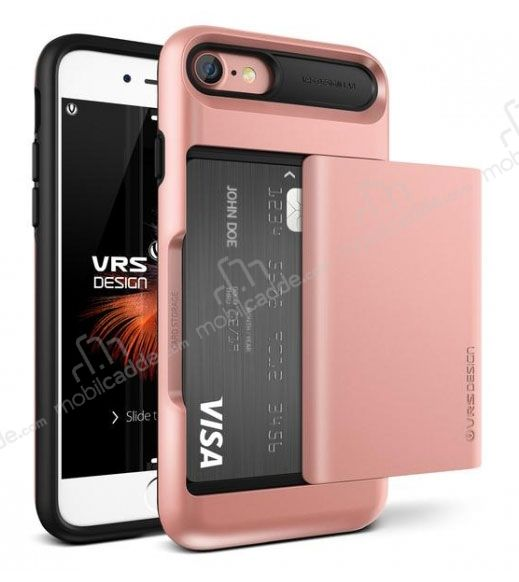 VRS Design Damda Glide iPhone 7 / 8 Rose Gold Kılıf