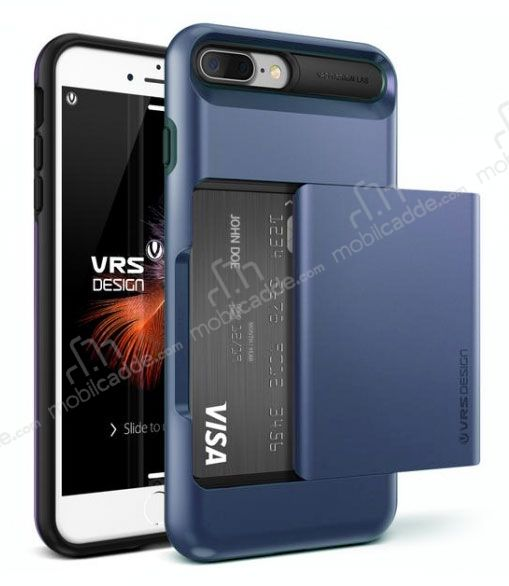 VRS Design Damda Glide iPhone 7 Plus Deep Blue Kılıf