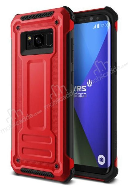 VRS Design Terra Guard Samsung Galaxy S8 Crimson Red Kılıf