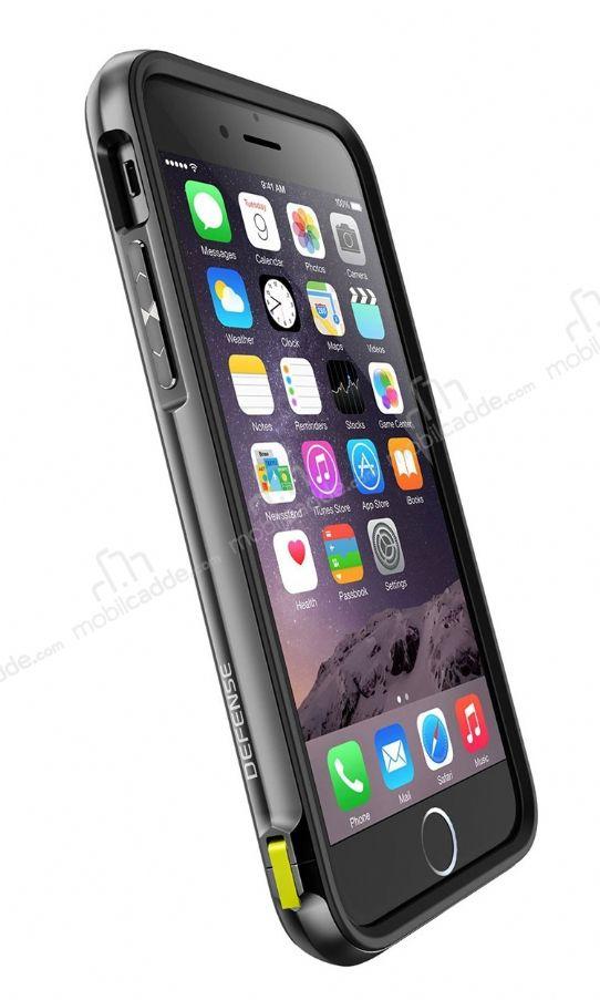 x doria defense lux iphone 6 6s ultra koruma siyah k l f